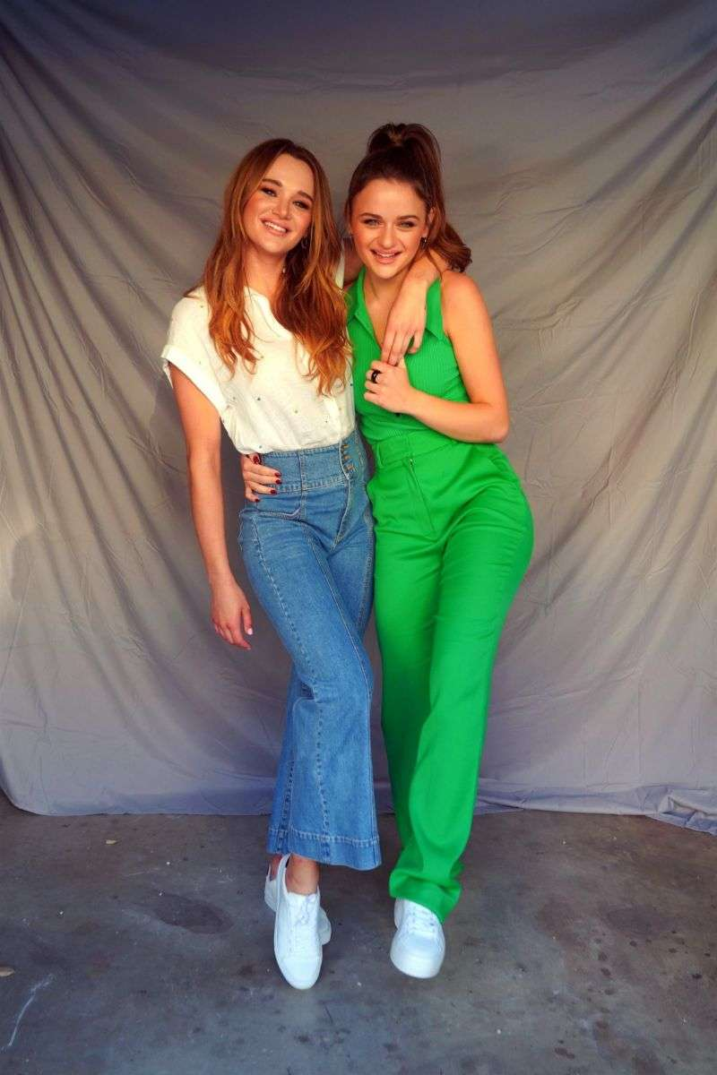 Hunter King & Joey King PhtoShoot for a secret project in Los Angeles California HD