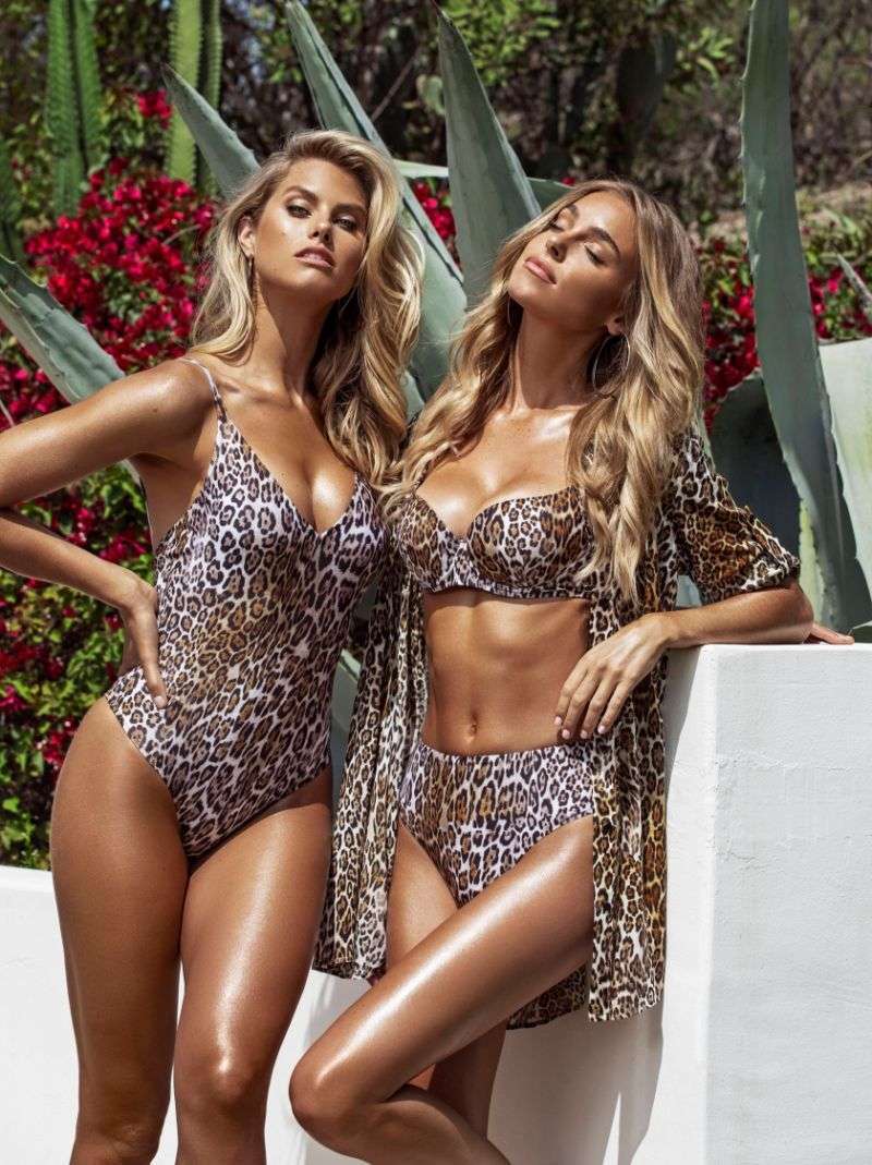 Natalie Roser and Elizabeth Turner Hot PhotoShoot for the Guess summer 2020 swimwear and lingerie collection