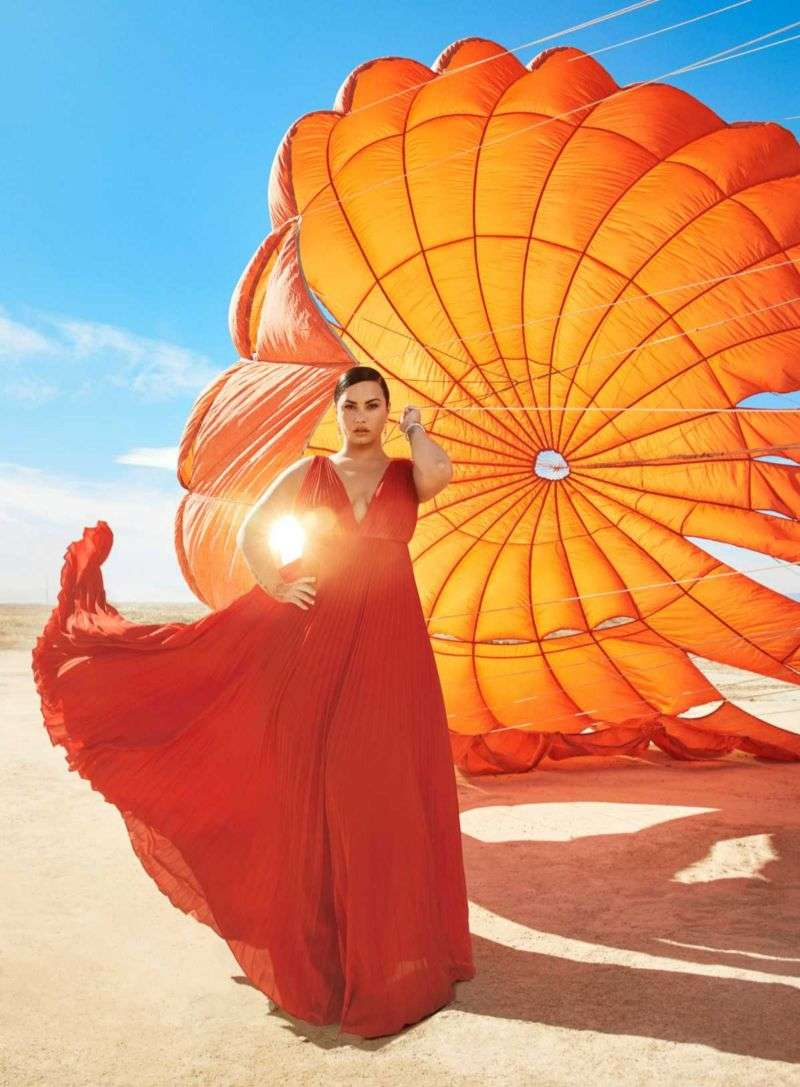 Demi Lovato PhotoShoot For Harper's Bazaar 2020 HD