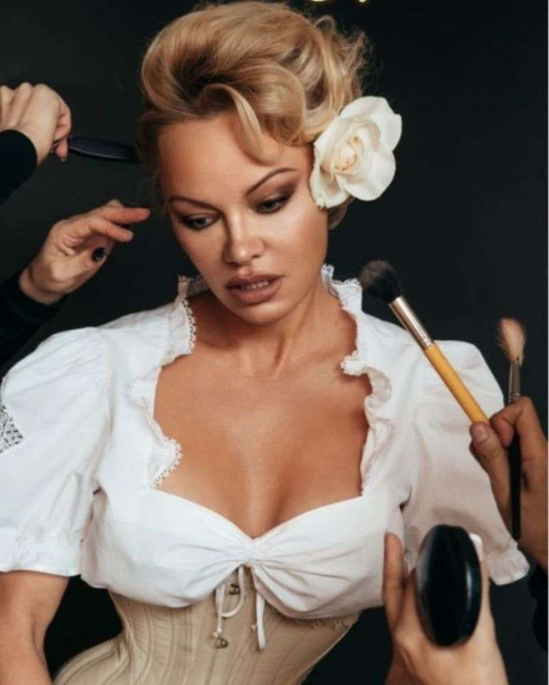 Pamela Anderson Kate Whyte Photoshoot HD