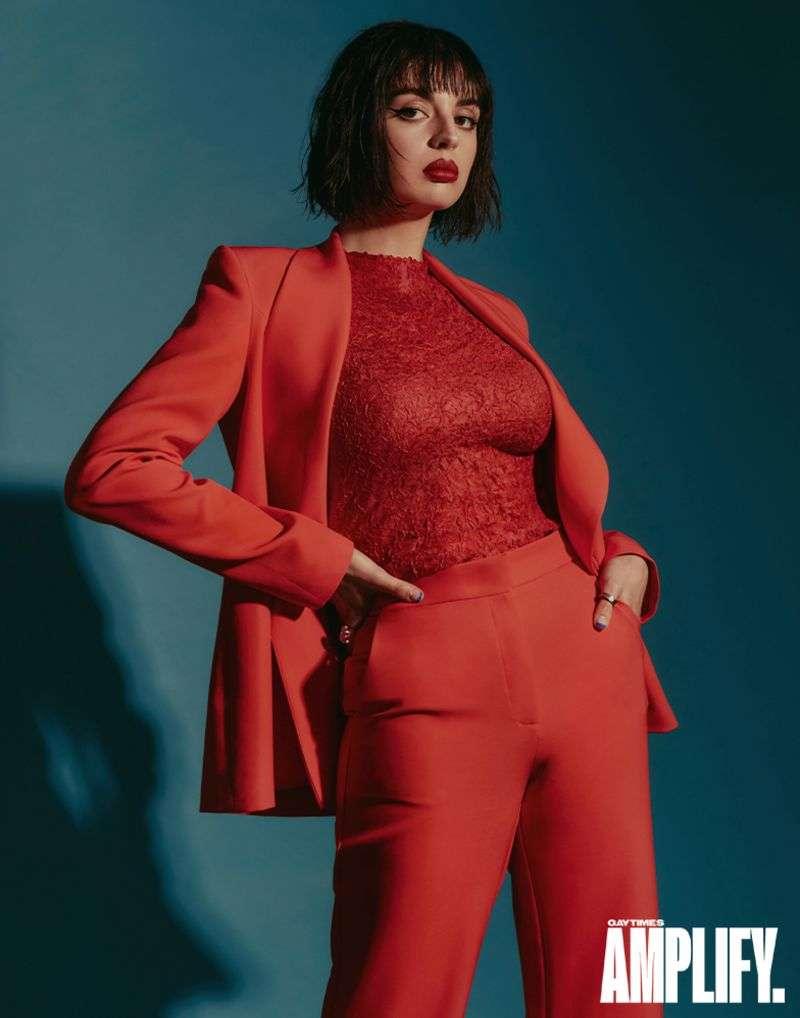 Rebecca Black - Raul Romo photoshoot for Gay Times 2020 HD