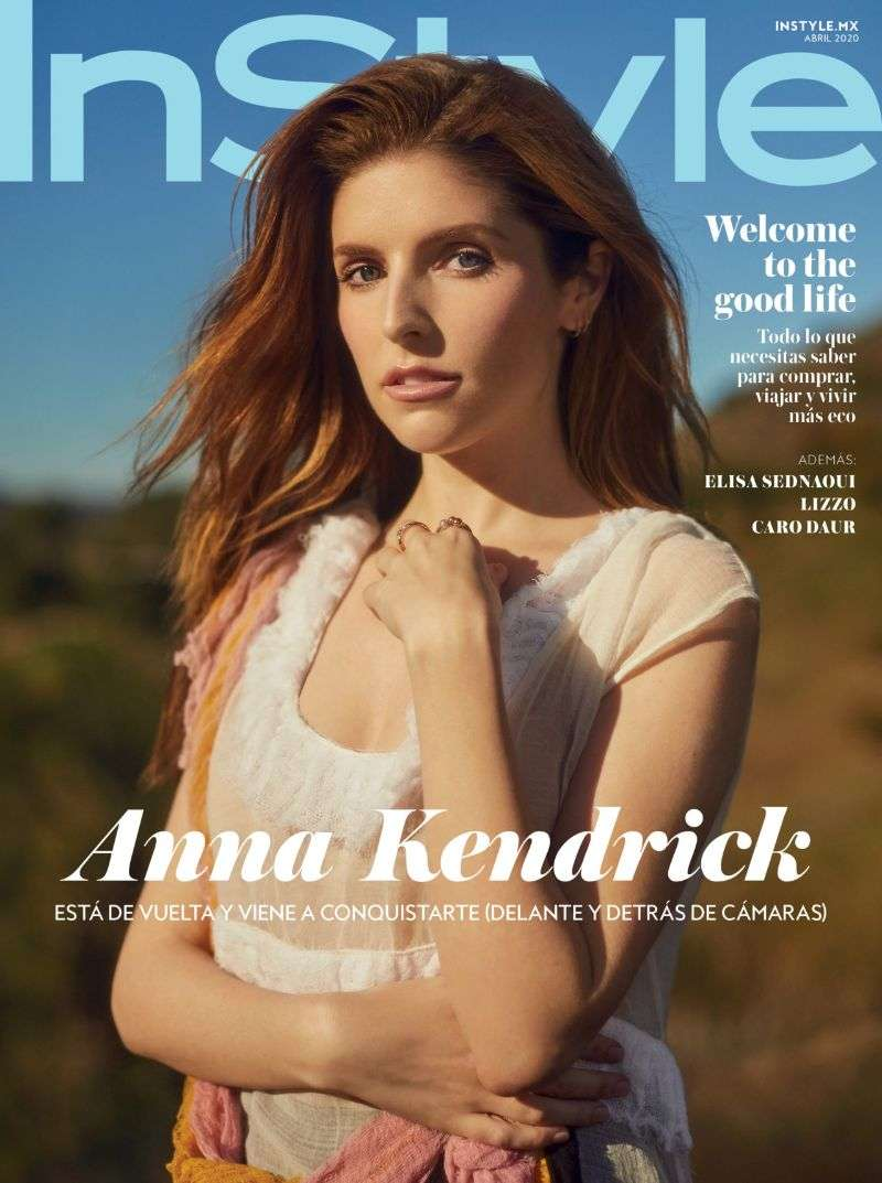 Anna Kendrick PhotoShoot For InStyle Mexico 2020 HD
