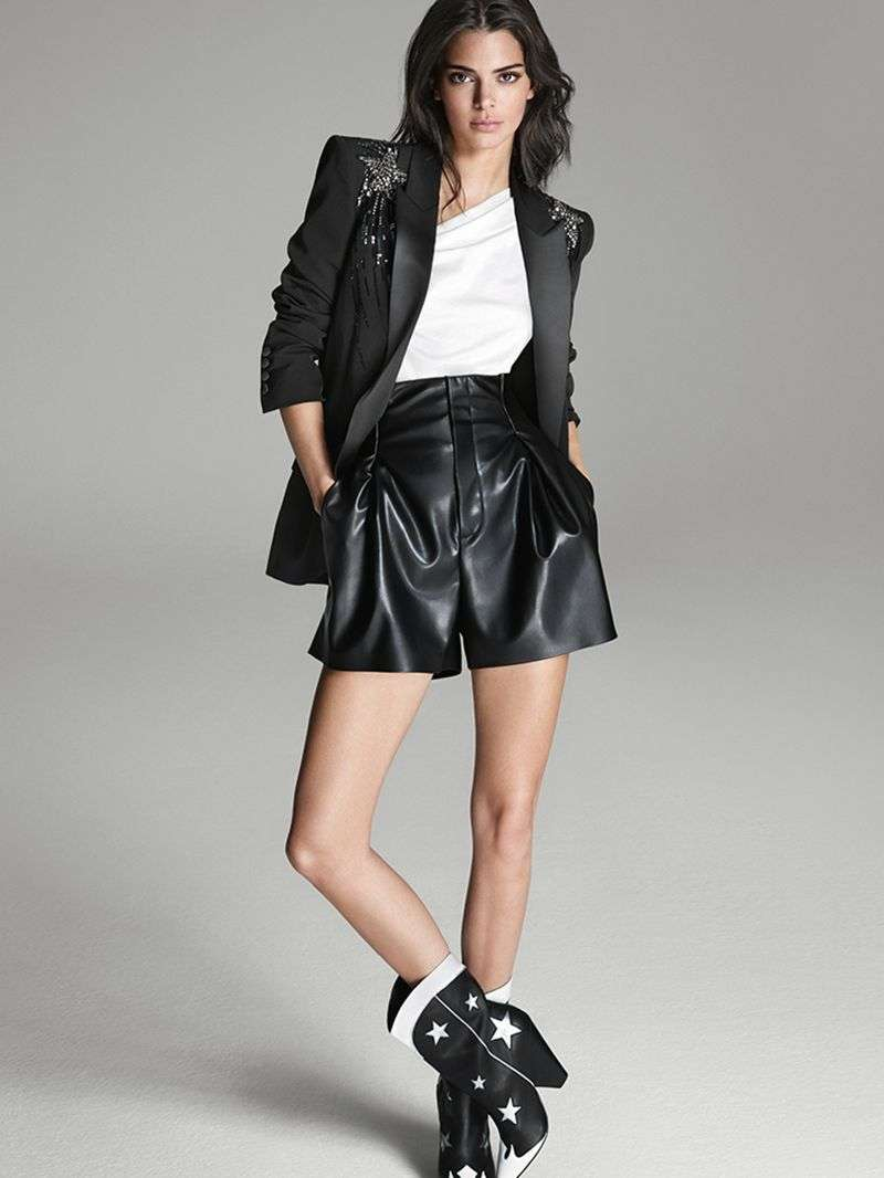 Kendall Jenner Hot PhtoShoot for the new publicity campaign of