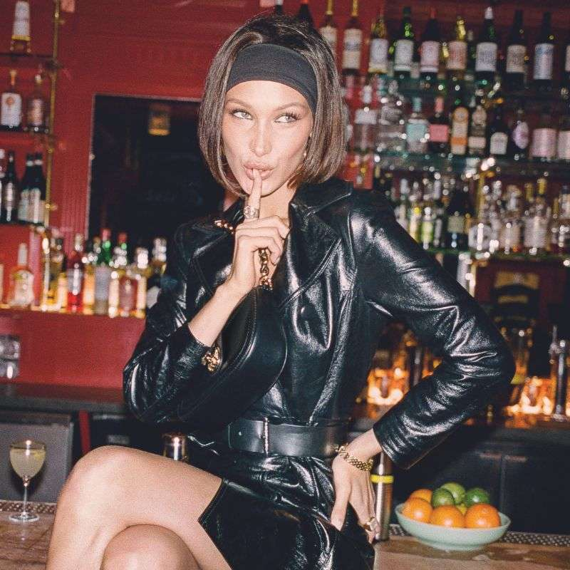 Bella Hadid in the Michael Kors campaign PhotoShoot HD