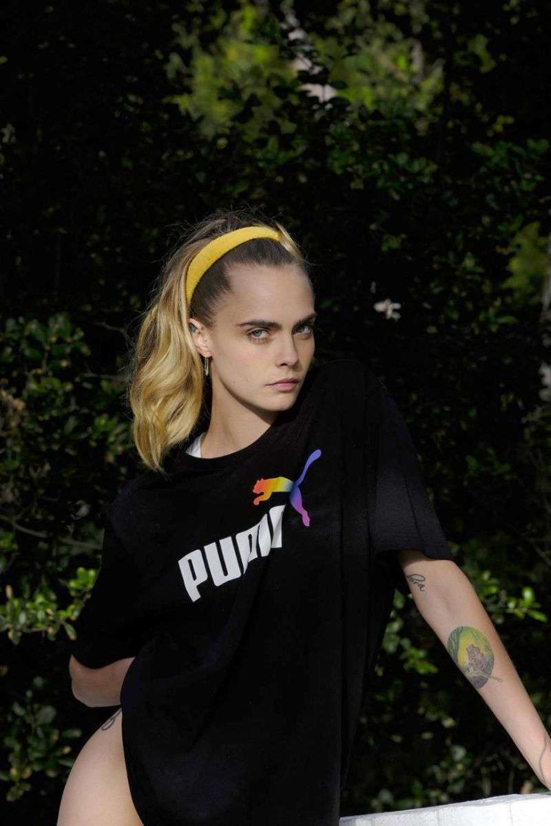 Cara Delevingne PhotoShoot For PUMA campaign 2020 HD