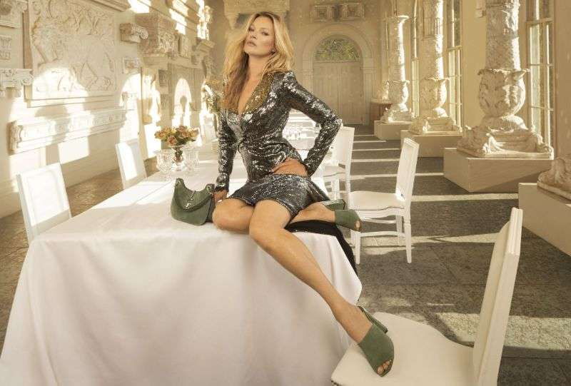Kate Moss in the Jimmy Choo campaign PhotoShoot 2020 HD