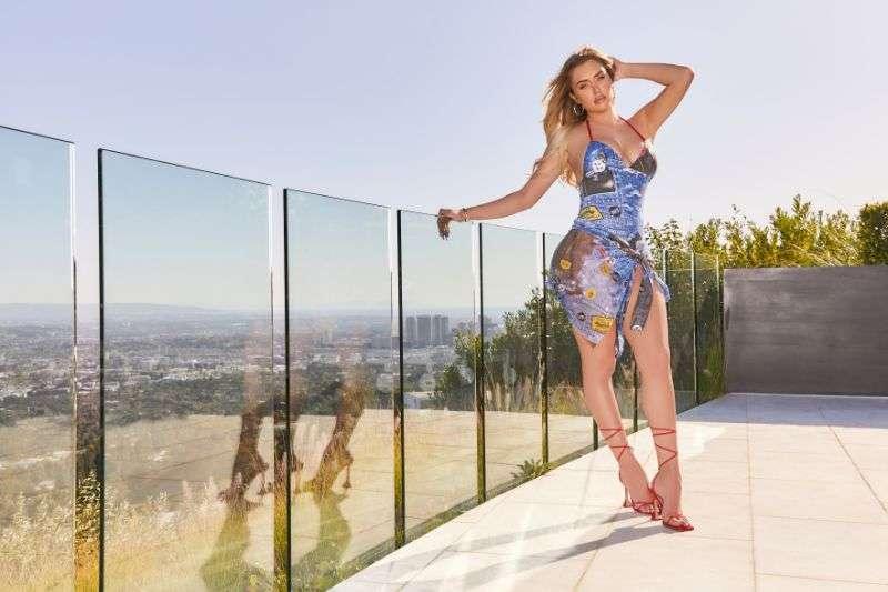 Anastasia Karanikolaou campaign for her new footwear with EGO 2020 HD