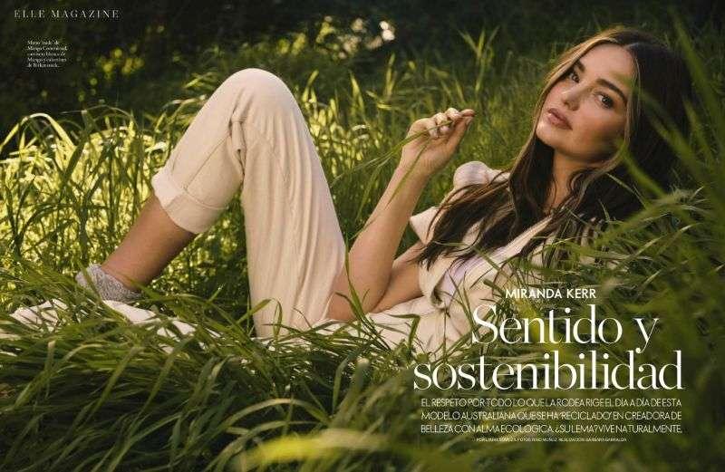 Miranda Kerr PhotoShoot For Elle Espana 2020 HD