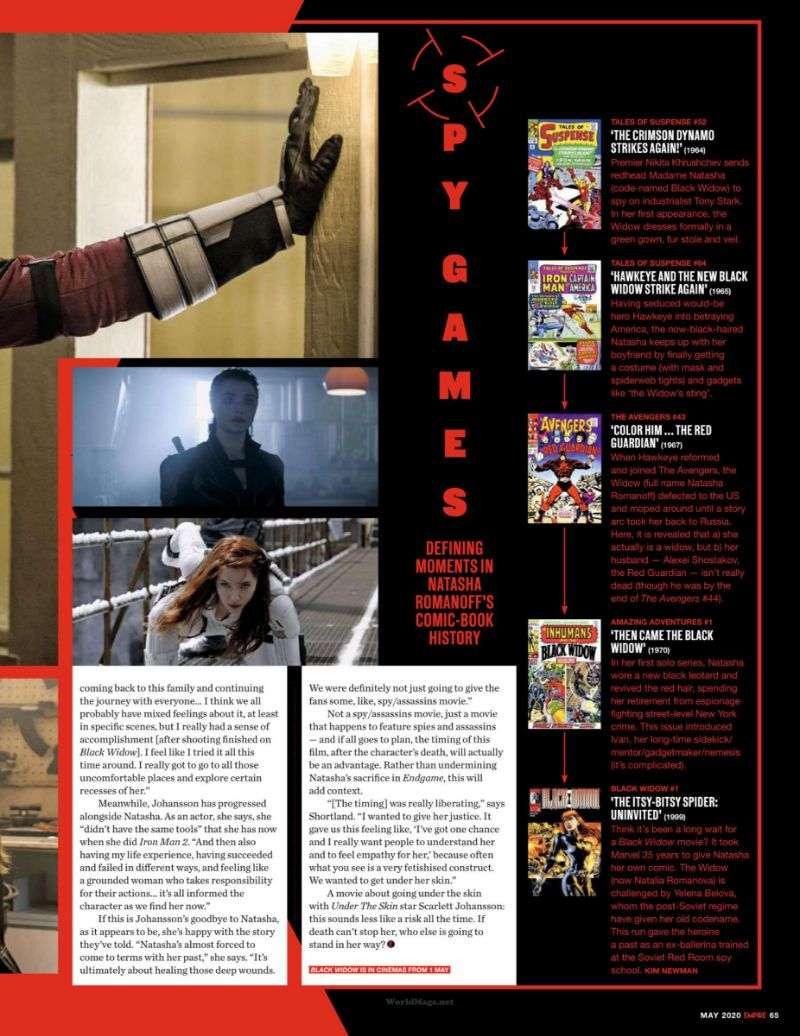Scarlett Johansson PhotoShoot For Empire Magazine 2020 HD