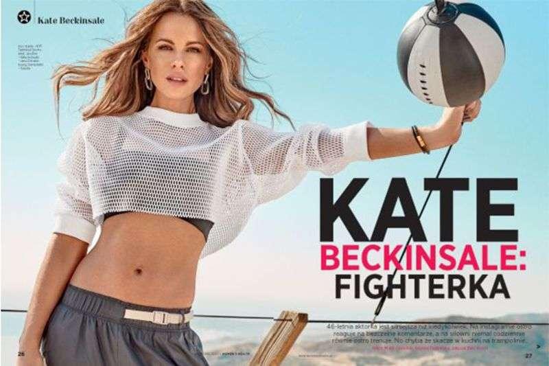 Kate Beckinsale PhotoShoot For Women's Health Poland 2020 HD