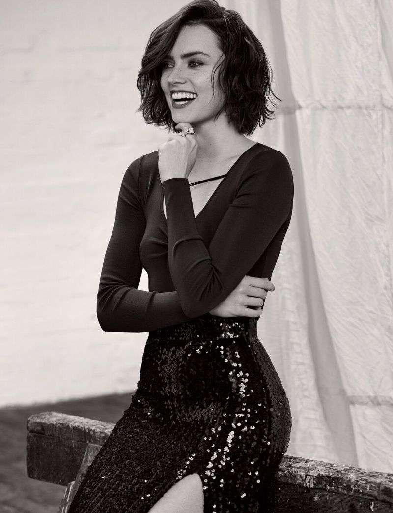 Daisy Ridley - Lara Jade Photoshoot for Harper's Bazaar Malaysia (2020) HD