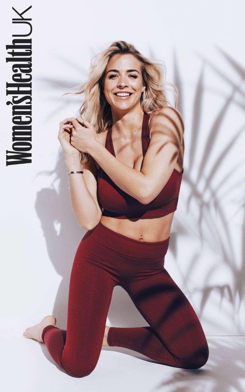 Gemma Atkinson Hot PhotoShoot For Women'sHealth UK Magazine 2020 HD