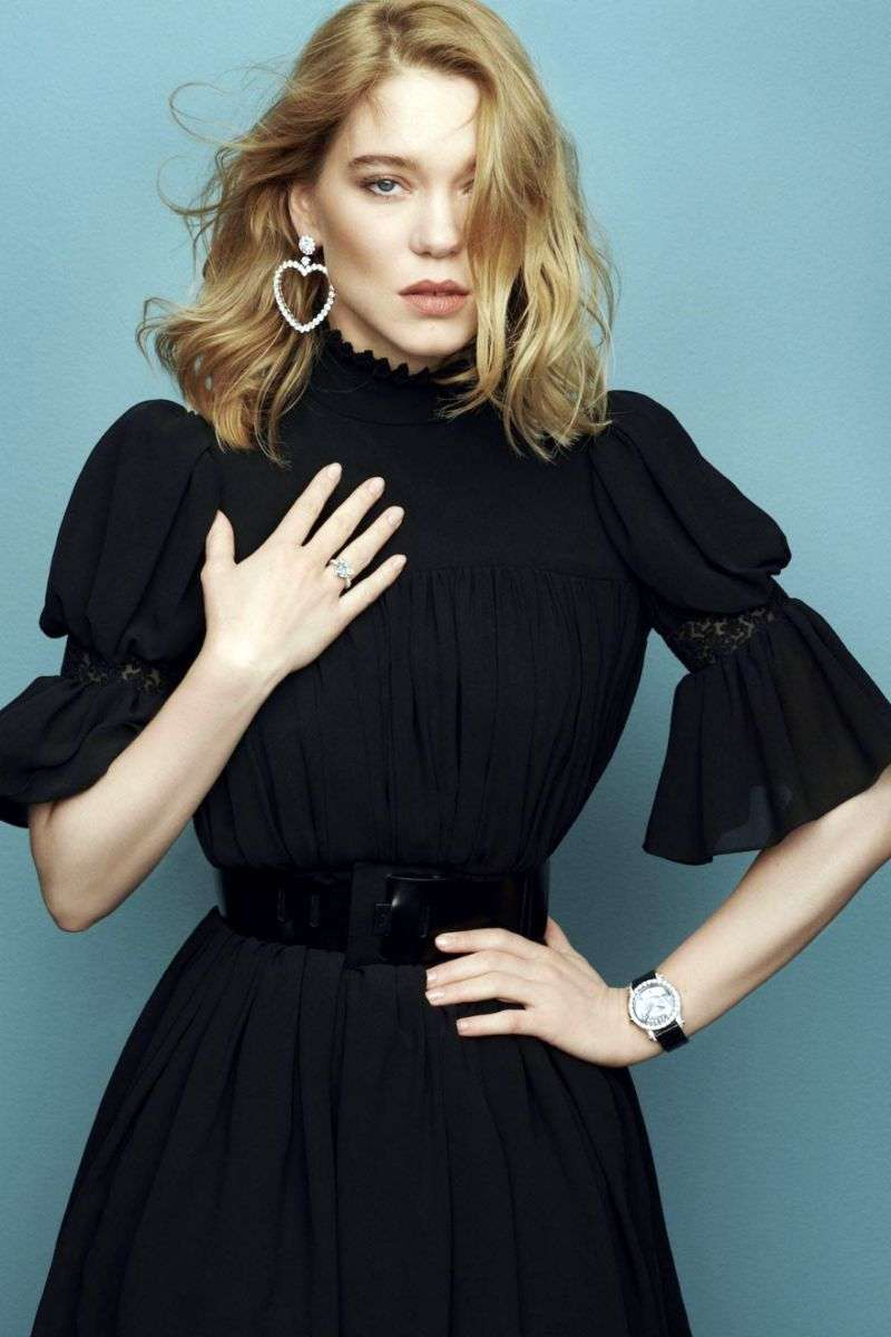 Léa Seydoux was nominated new Global Ambassador for jewelry brand Chopard on February HD