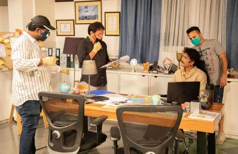 Nagarjuna Wild Dog Movie Latest Working Stills HD