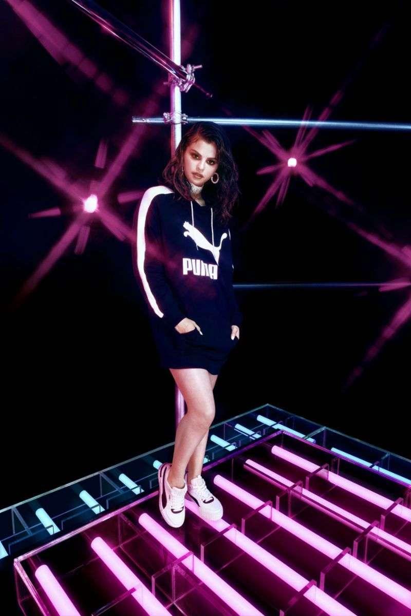 Selena Gomez PhotoShoot for the Puma Cali Sport Heritage Spring/Summer 2020