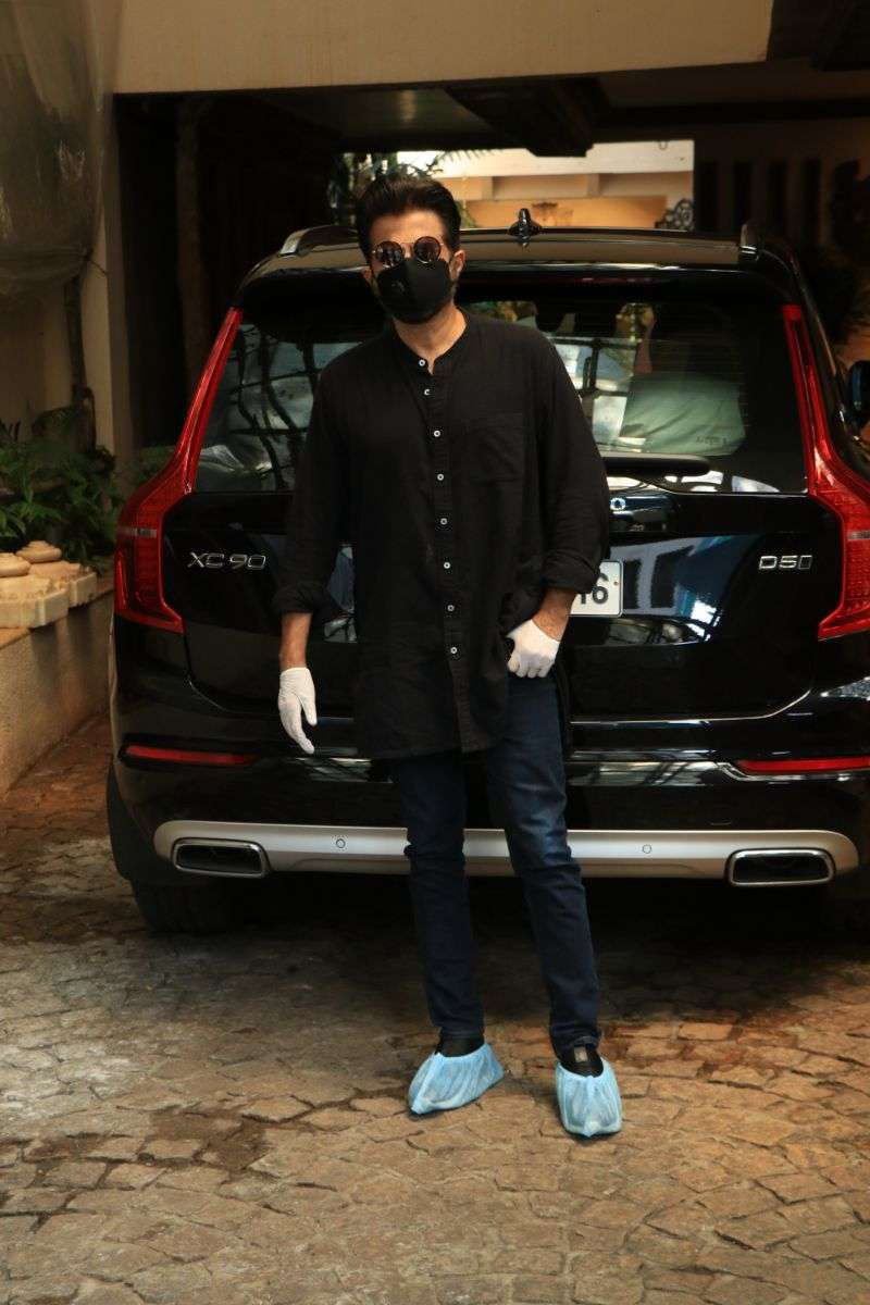 Anil Kapoor Latest Photos at juhu HD