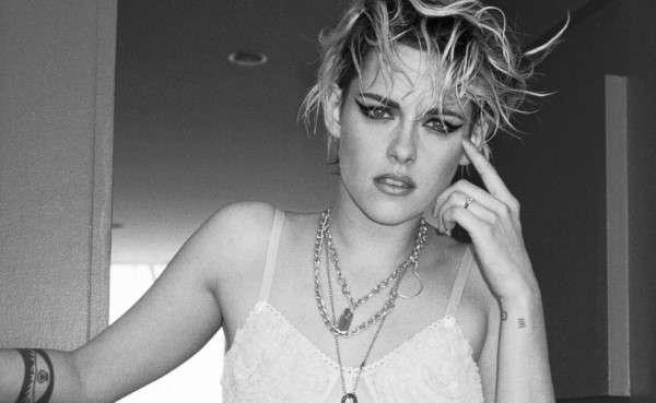 Kristen Stewart Hot PhotoShoot For Bra & Gucci Briefs - V Magazine - Out take HD