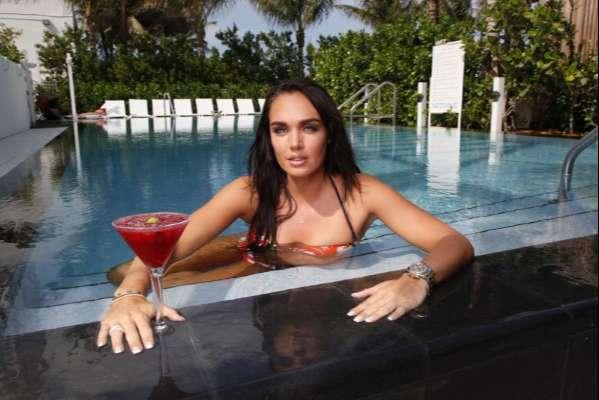Tamara Ecclestone at the W hotel in Miami, Florida, America 2010
