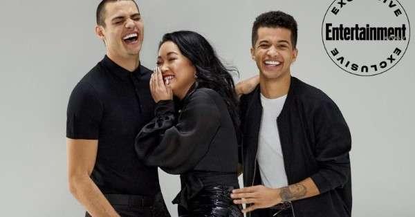 Lana Condor, Noah Centineo & Jordan Fisher EW portraits 2020 HD