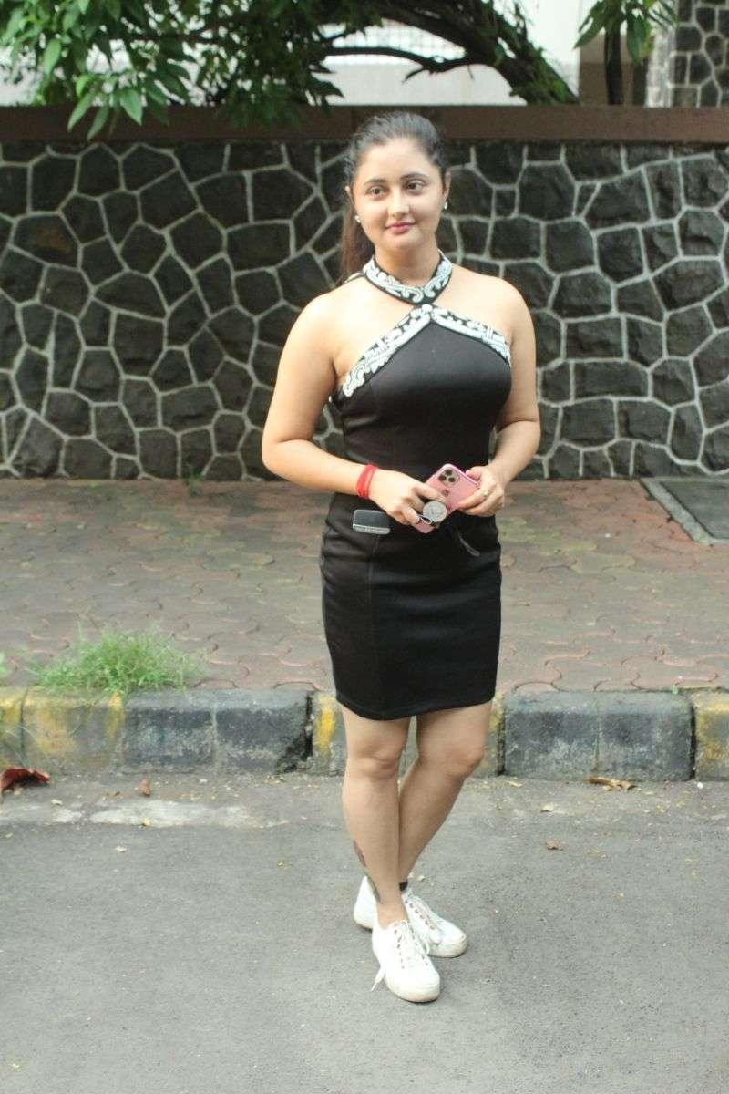 Rashmi Desai Hot Pics In Black at andheri HD photos