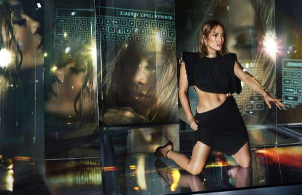Jennifer Lopez Hot PhotoShoot For Versace Spring Summer 2020 HD