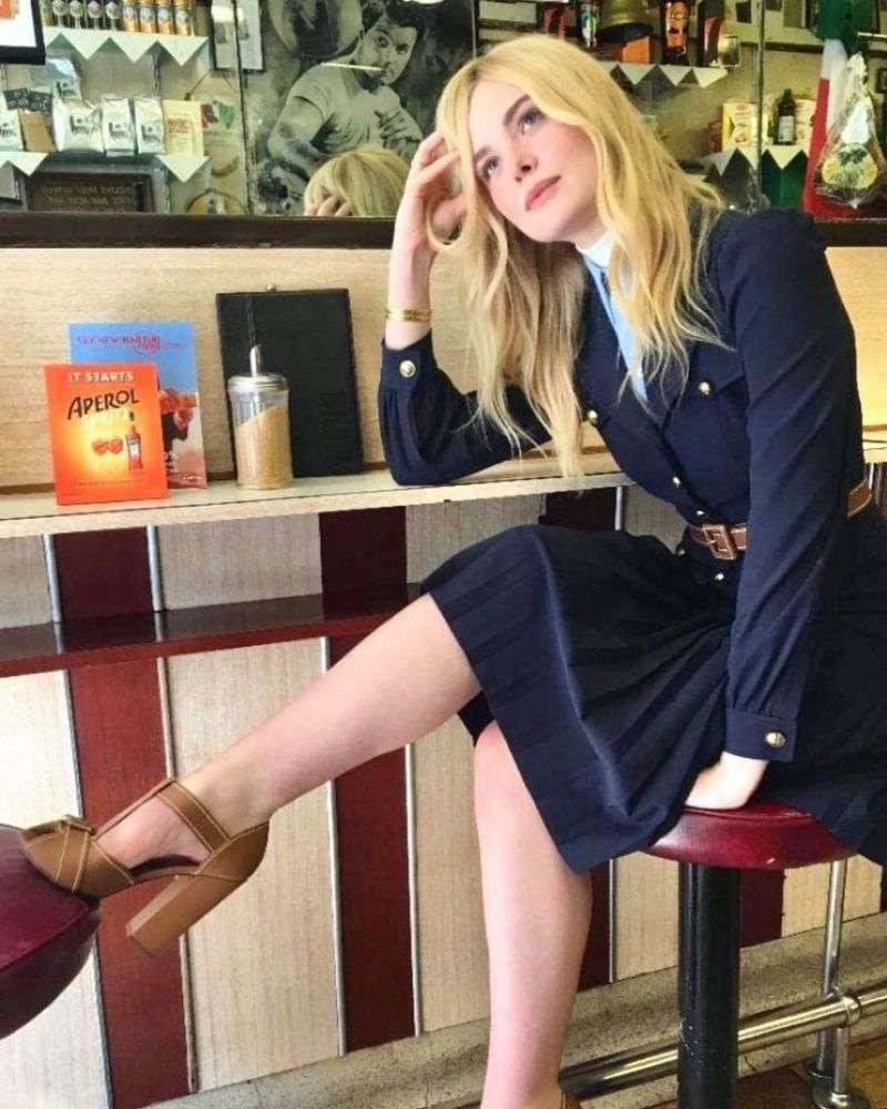 Elle Fanning Photo Shoot For Vogue Magazine UK 2020 HD