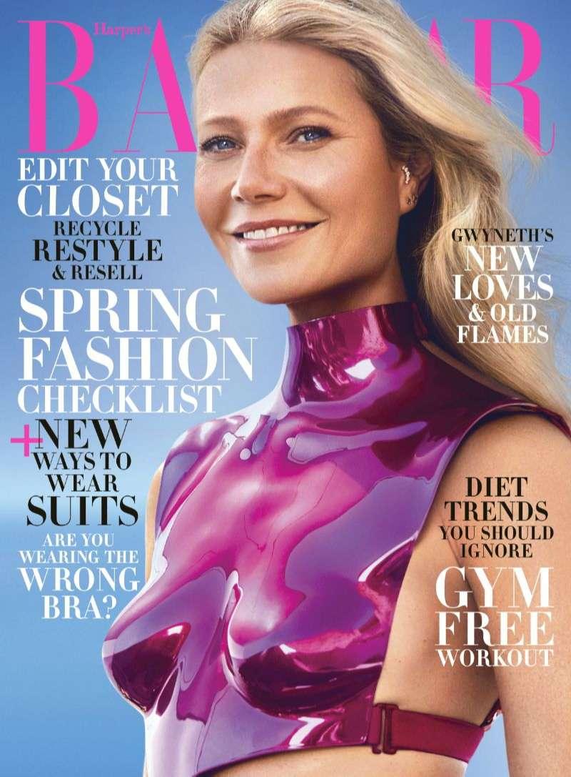 Gwyneth Paltrow Hot Photos Of US Harper's Bazaar HD
