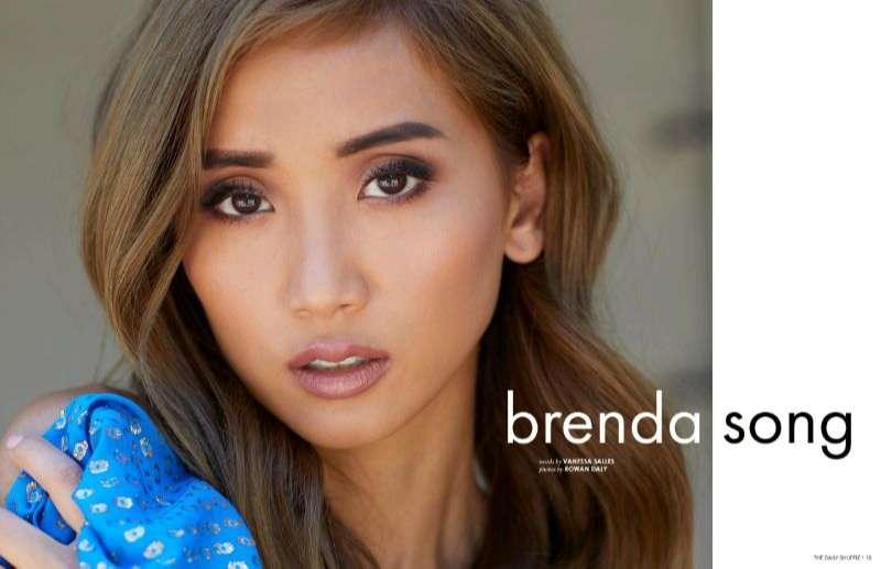 Brenda Song Hot PhotoShoot The Daily Shuffle Magazine HD