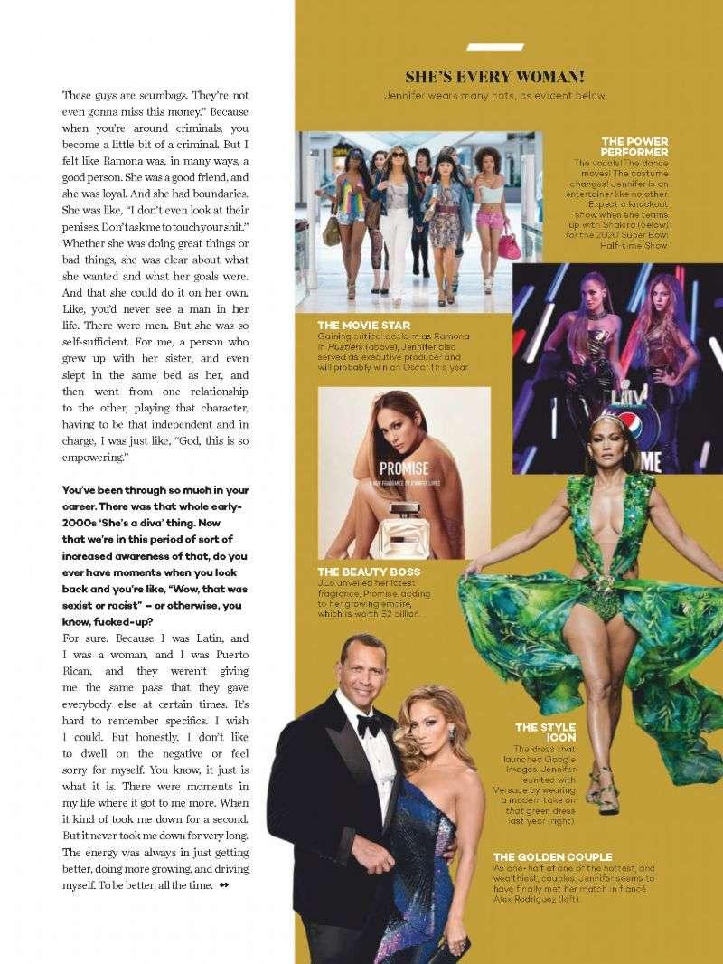 Jennifer Lopez PhotoShoot Glamour (South Africa) HD 2020