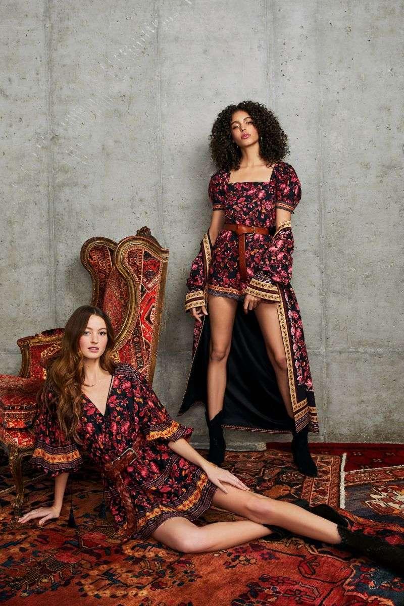 Megan Puleri & Danielle Ellsworth PhotoShoot FOr Alice + Olivia HD