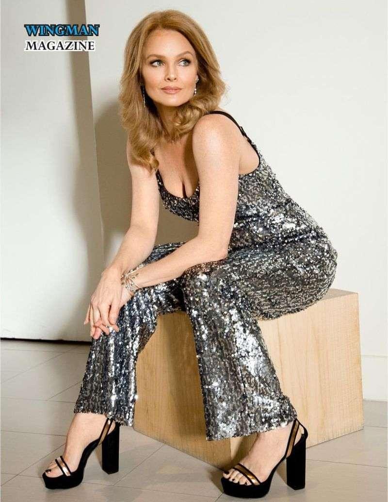 Dina Meyer 2019 Malik Daniels Hot Photoshoot for Wingman Magazine HD