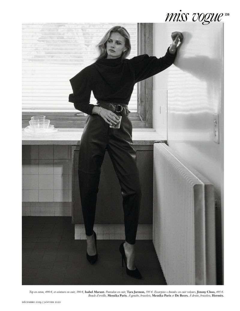 Edita Vilkeviciute Hot Photos of Vogue Magazine Paris HD