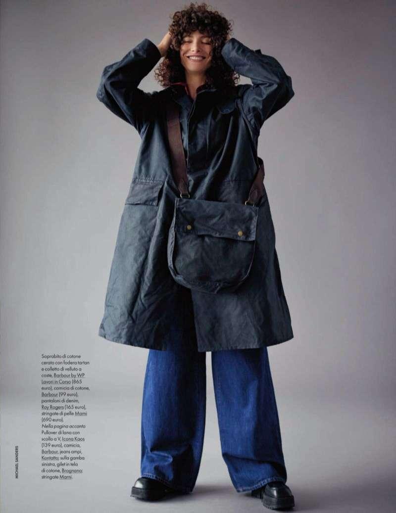 Jordan Rand Hot PhotoSHoot Michael Sanders for Elle Italia HD