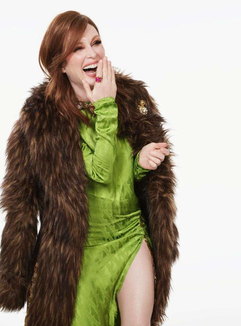 Julianne Moore by Phil Poynter for InStyle HD