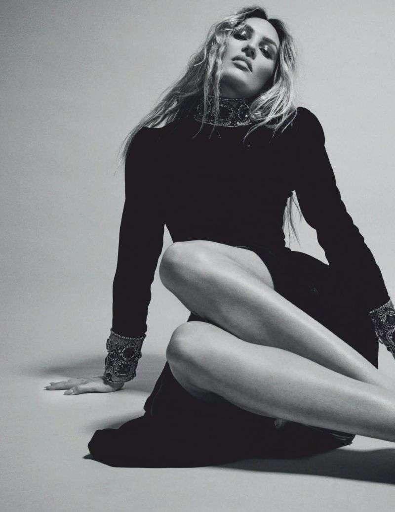 Candice Swanepoel for Harper's Bazaar Spain October by David Roemer HD
