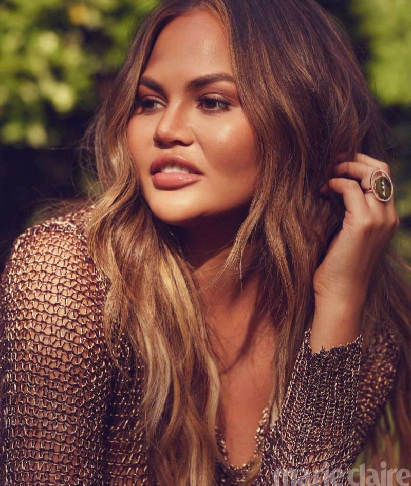 Chrissy Teigen Hot Pics by Lauren Dukoff for Marie Claire US HD