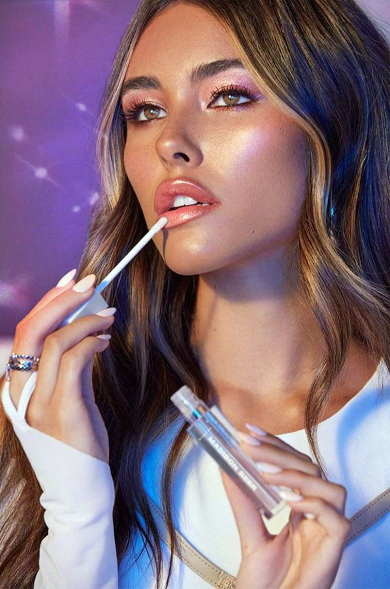 Madison Beer Hot Photoshoot Pics for the new cosmetic brand Morphe HD