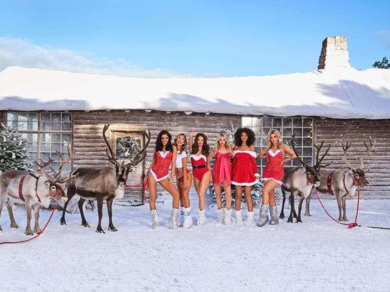 Maura HigginsHot PhotoShoot For Ann Summers Christmas Campaign HD