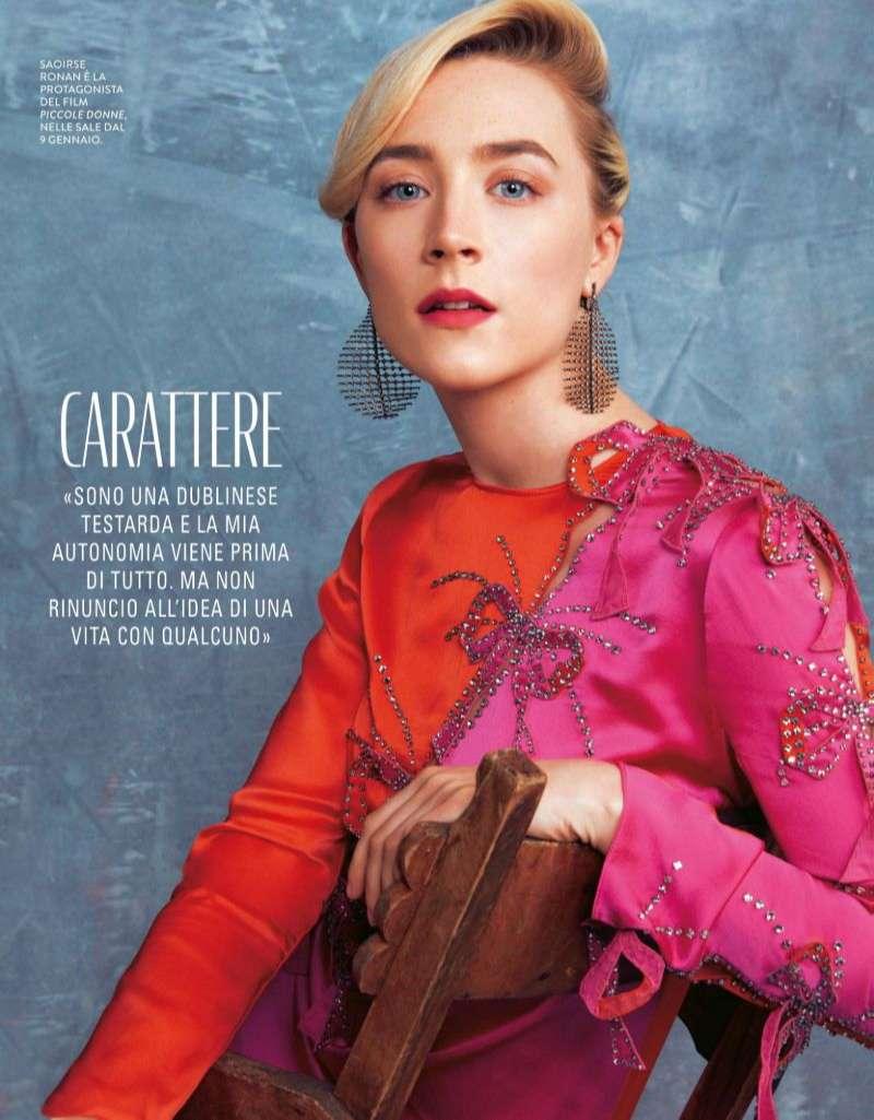 Saoirse Ronan Hot PhotoStills Grazia Italia HD