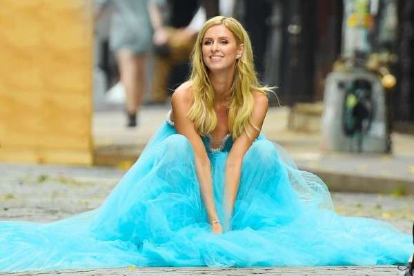 Nicky Hilton Beautifull Stills during a shoot in New York HD