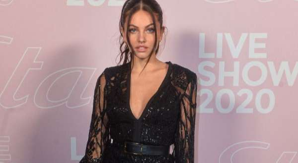 Thylane Blondeau Hot Pics Etam show as part of Paris Fashion Week HD