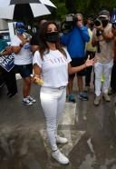 Eva Longoria And CNN Host Ana Navarro Rally For the Latino Vote in Miami