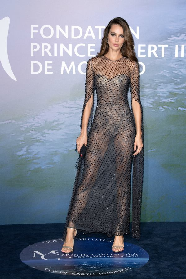 Sofia Resing Monte-Carlo Gala For Planetary Health in Monaco HD Photos