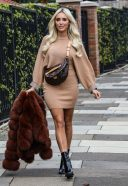 Amber Turner Photocall for Envy Shoes in London HD