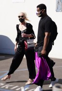 Anne Heche Hot and Stylish Pics In Black Stars studio on Thursday in Los Angeles