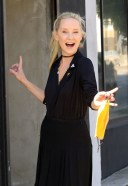 Anne Heche Seen at the dance studio in Los Angeles HD