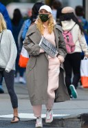 Elsa Hosk Spotted out after lunch in downtown Manhattan New York