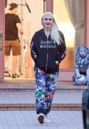 Gwen Stefani Hot Photos At studio in Woodland Hills wearing an Anaheim Hilbilies hoodie 13