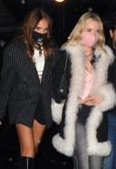 Lottie Moss & Hana Cross Pictured at Bagatelle in London HD