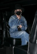 Miley Cyrus Hot Pics in New York rocking a double denim look HD 13